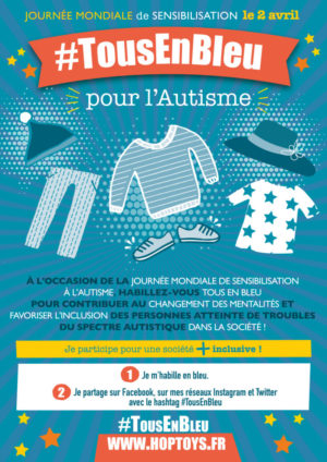 2 avril : Journée mondiale de sensibilisation à l'autisme