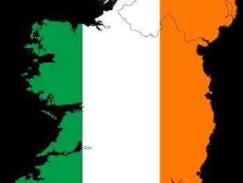 Départ pour l'Irlande