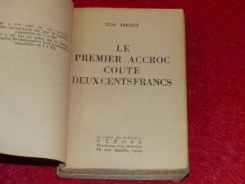 A la découverte d'une écrivaine : Elsa Triolet